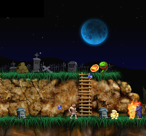 The Ghoul Realm: Ghosts 'N Goblins